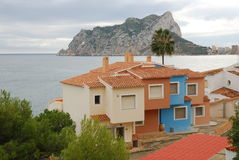 Calpe Royalty Free Stock Photo