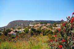 Calpe in Alicante Spain at Valencian Community. At Mediterranean sea shore Royalty Free Stock Photo