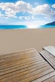 Calpe Arenal Bol playa παραλία Αλικάντε Στοκ φωτογραφία με δικαίωμα ελεύθερης χρήσης