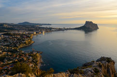 Calpe bay Stock Photography