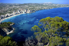 Calpe Bay Stock Image