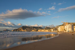 Calpe beach Royalty Free Stock Photos