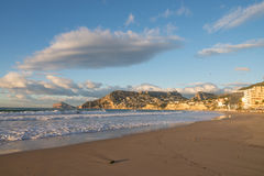 Calpe beach Stock Images