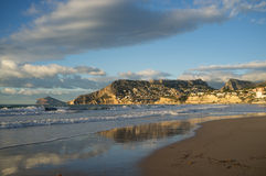 Calpe beach Royalty Free Stock Photography