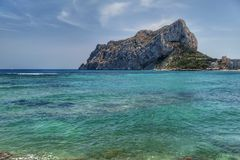 Calpe Royalty Free Stock Images