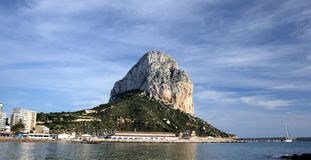 Calpe coast Stock Image