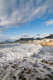 Calpe coastline Royalty Free Stock Photo