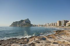Calpe early morning Stock Photos