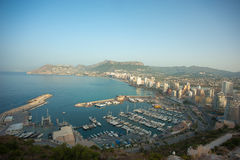 Calpe early morning Stock Images