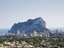 Calpe Ifach Royalty Free Stock Image