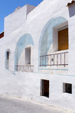 Calpe. Mediterranean Spanish coastal city historic old town cent Royalty Free Stock Photography