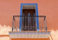 Calpe. Mediterranean Spanish coastal city historic old town cent Royalty Free Stock Photo