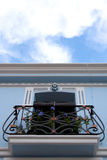 Calpe. Mediterranean Spanish coastal city historic old town center Royalty Free Stock Image
