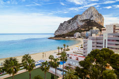 Calpe - Penon de Ifach Royalty Free Stock Photos