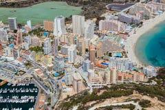 Calpe resort - Spanish coast Stock Photography