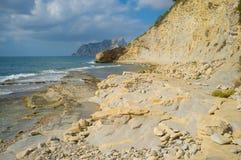 Calpe rocks Stock Image