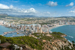 Calpe view Stock Photo