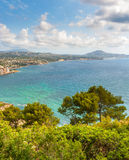 Calpe view Royalty Free Stock Image