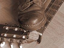 Calpesti underfoot Immagini Stock Libere da Diritti