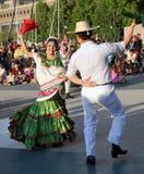 Calpulli mexikanische Tanz-Firma Stockfotografie