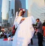 Calpulli mexikanische Tanz-Firma Stockbild