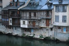 Calquieres, Espalion, Aveyron ( France ) Royalty Free Stock Photos