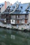 Calquieres, Espalion, l'Aveyron (Frances) Photos libres de droits