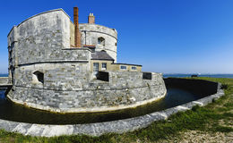 Calshot castle Royalty Free Stock Photo