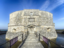 Calshot Castle Stock Photo