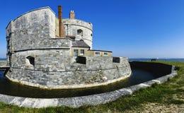 Calshot Schloss Lizenzfreies Stockfoto