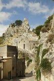 Caltabellotta, Σικελία, Ιταλία Στοκ εικόνες με δικαίωμα ελεύθερης χρήσης