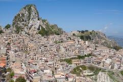 Caltabellotta,Sicily, Italy Stock Photos