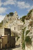 Caltabellotta, Sizilien, Italien Lizenzfreie Stockbilder