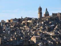Caltagirone panoramic Royalty Free Stock Photo