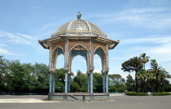 Caltagirone, Sicily. The bandstand in the Villa Comunale Royalty Free Stock Photography