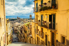 Caltagironestad, Sicilië Royalty-vrije Stock Fotografie