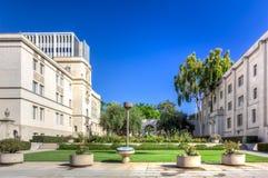 Caltech huvudsaklig ingång Royaltyfria Foton