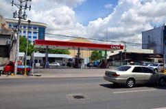 Caltex benzynowa stacja w Cebu Obraz Royalty Free