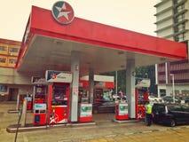 Caltex petrol station. In Kuala Lumpur, Peninsular Malaysia royalty free stock image