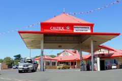 Caltex gas station in Western Australia Stock Photography