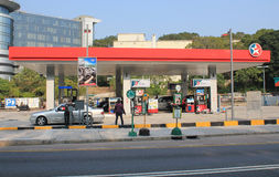Caltex petroleum station Royalty Free Stock Photos