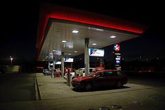 Caltex service station Stock Images