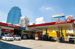 Caltex service station Stock Photos