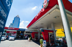 Caltex service station Royalty Free Stock Photos
