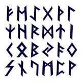 Caltic runes abc Stock Images