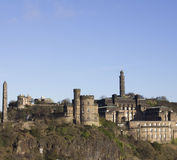 Calton小山-爱丁堡 免版税库存图片