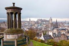 calton爱丁堡小山苏格兰 免版税库存图片