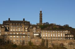 Calton Buildings Royalty Free Stock Photography