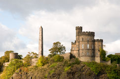 Calton Hügel Edinburgh lizenzfreies stockfoto