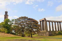 Calton Hill Stock Photo